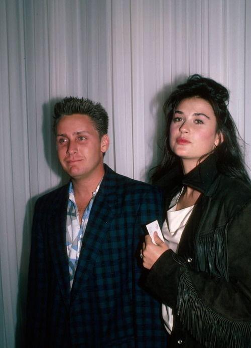 Demi Moore и Timothy Hutton