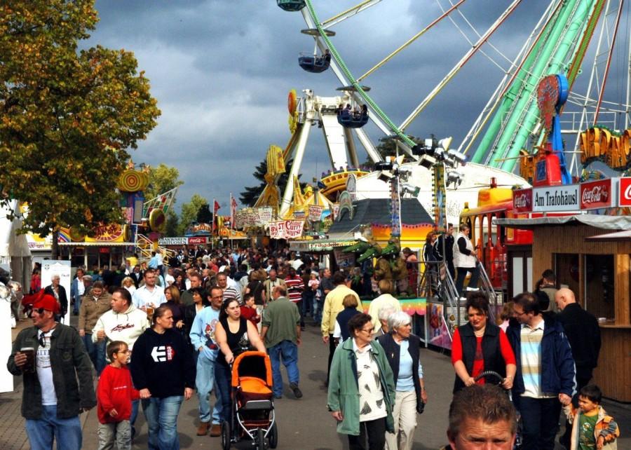 3. Вурстмаркт Свое название фестиваль получил благодаря городку Вурстмаркт, расположенному в Бад-Дюр