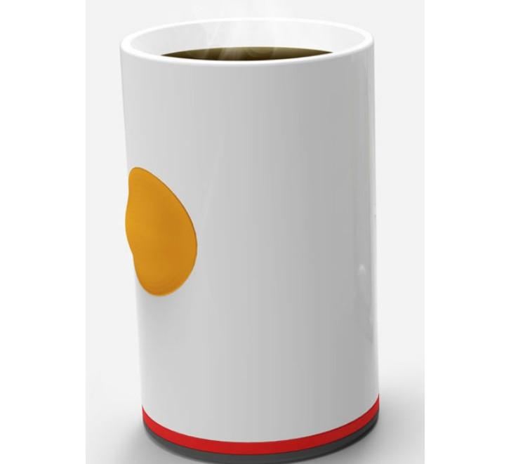 4. Кружка с подогревом Кружка с кнопкой, которая подогреет остывший кофе.