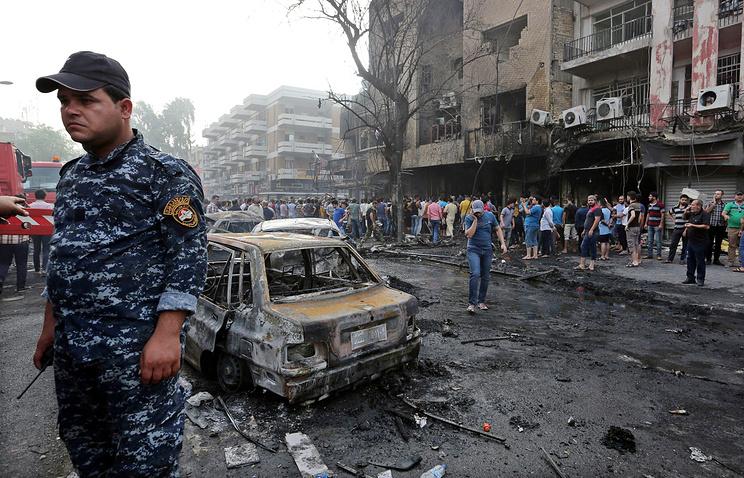Число жертв в итоге теракта вБагдаде возросло до165 человек