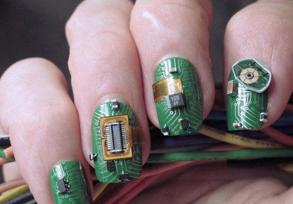 электронные ногти