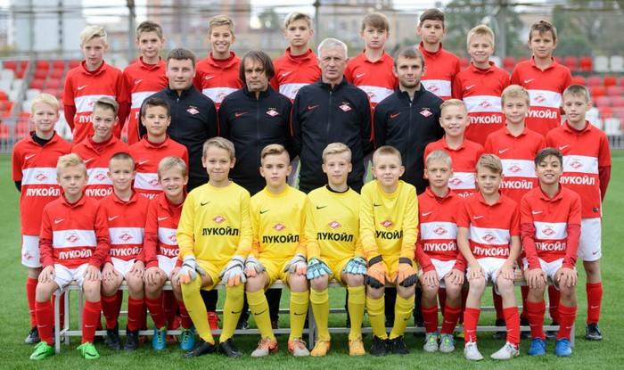 Команда Академии «Спартак» 2004 года рождения