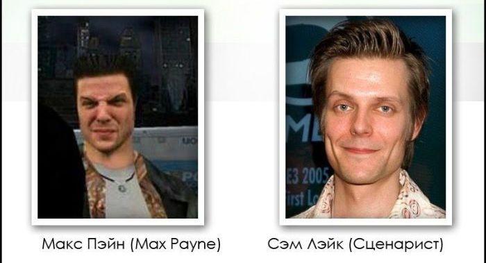 Игровые персонажи и их прототипы