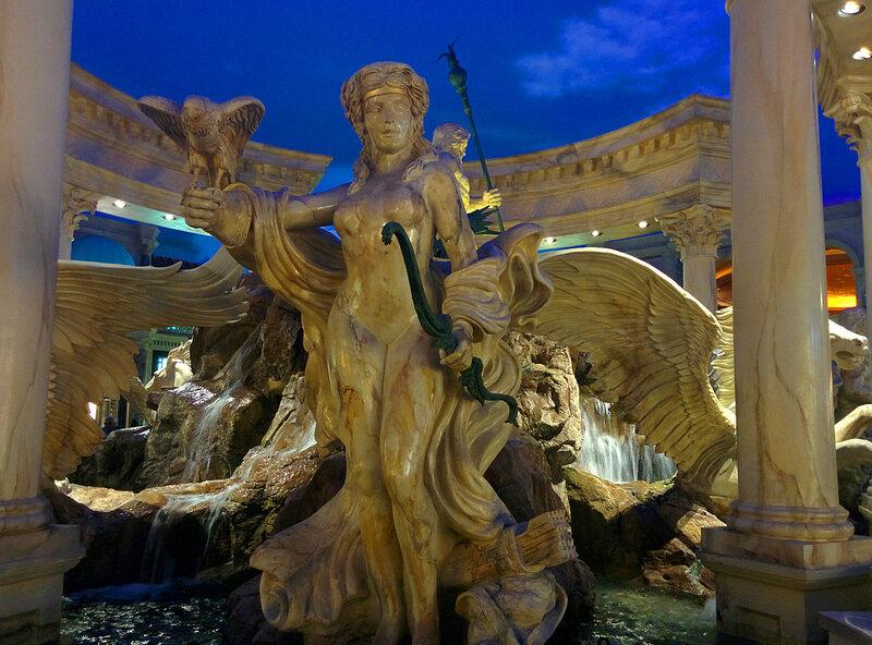 Дворец Цезаря - отель.Лас Вегас