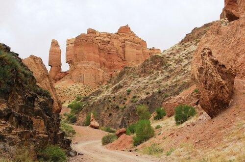 Дорога в каньоне
