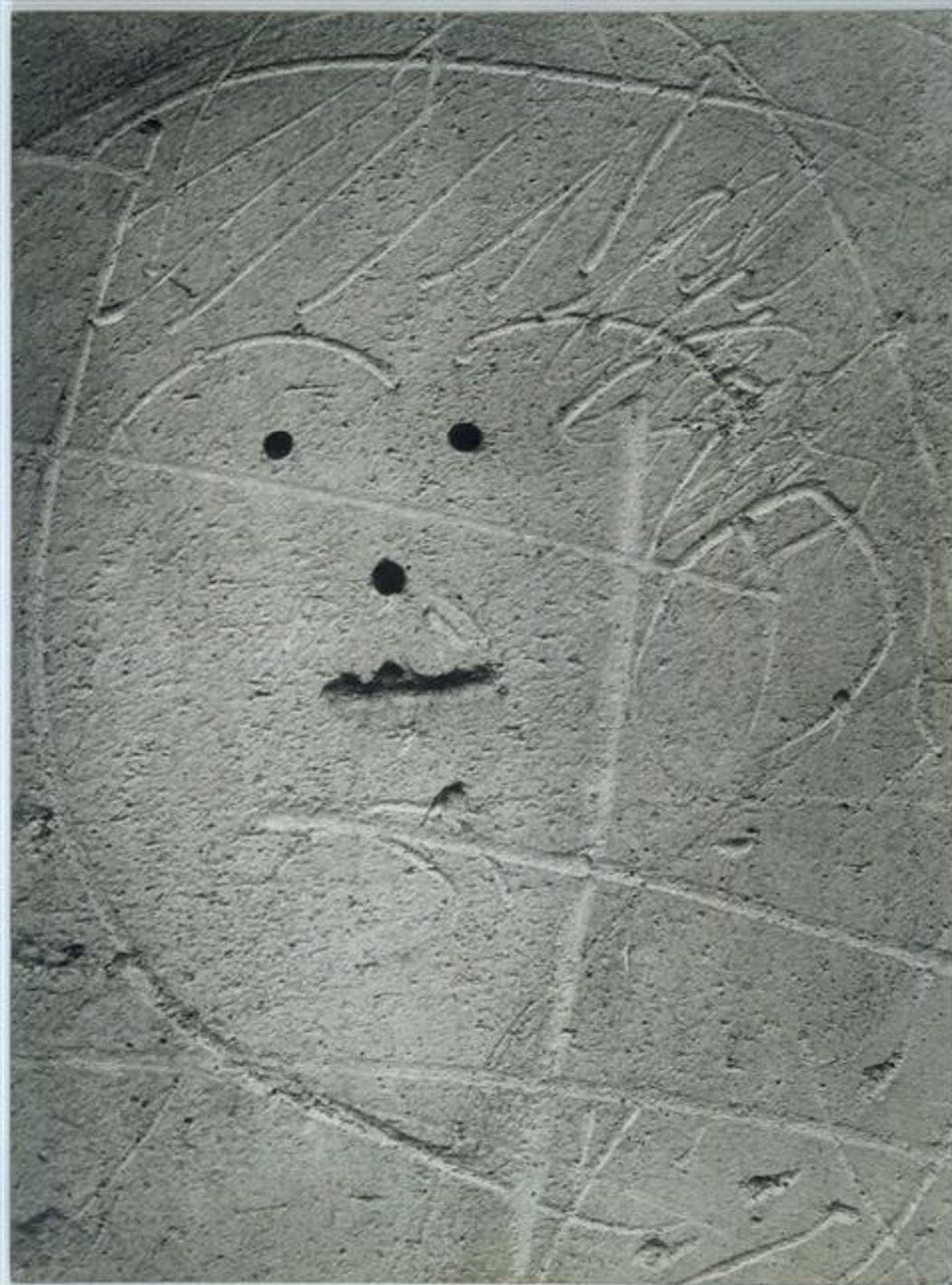 1935. Граффити. Серия IV. Маски и лица