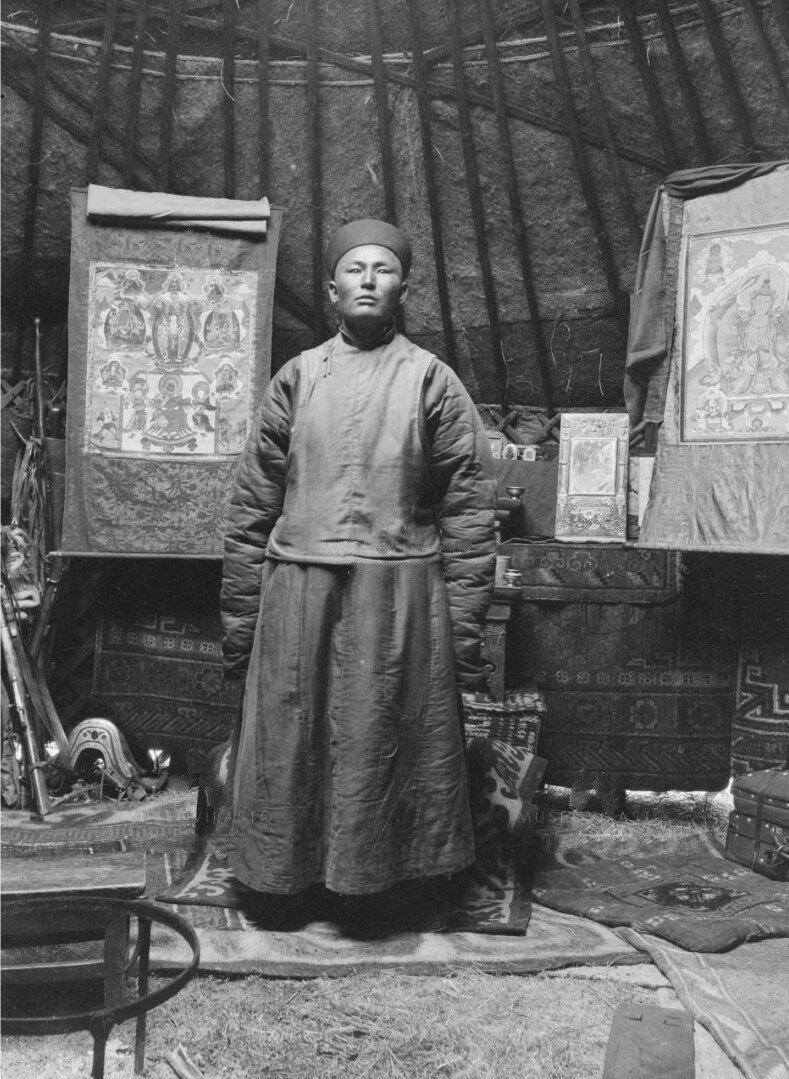 Калмык Джирджил, брат Насамбатина