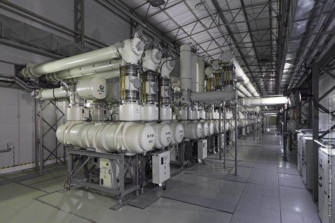нововоронежская аэс комплектные распредустройства 220/500 кВ закрытого типа с элегазовой изоляцией шестого энергоблока