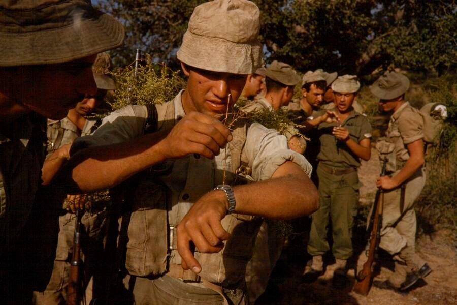 Israeli soldiers, near Jerusalem, 1958, Brake, Brian (1927–1988).jpg