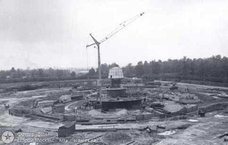 строительство останкинской телебашни строительство