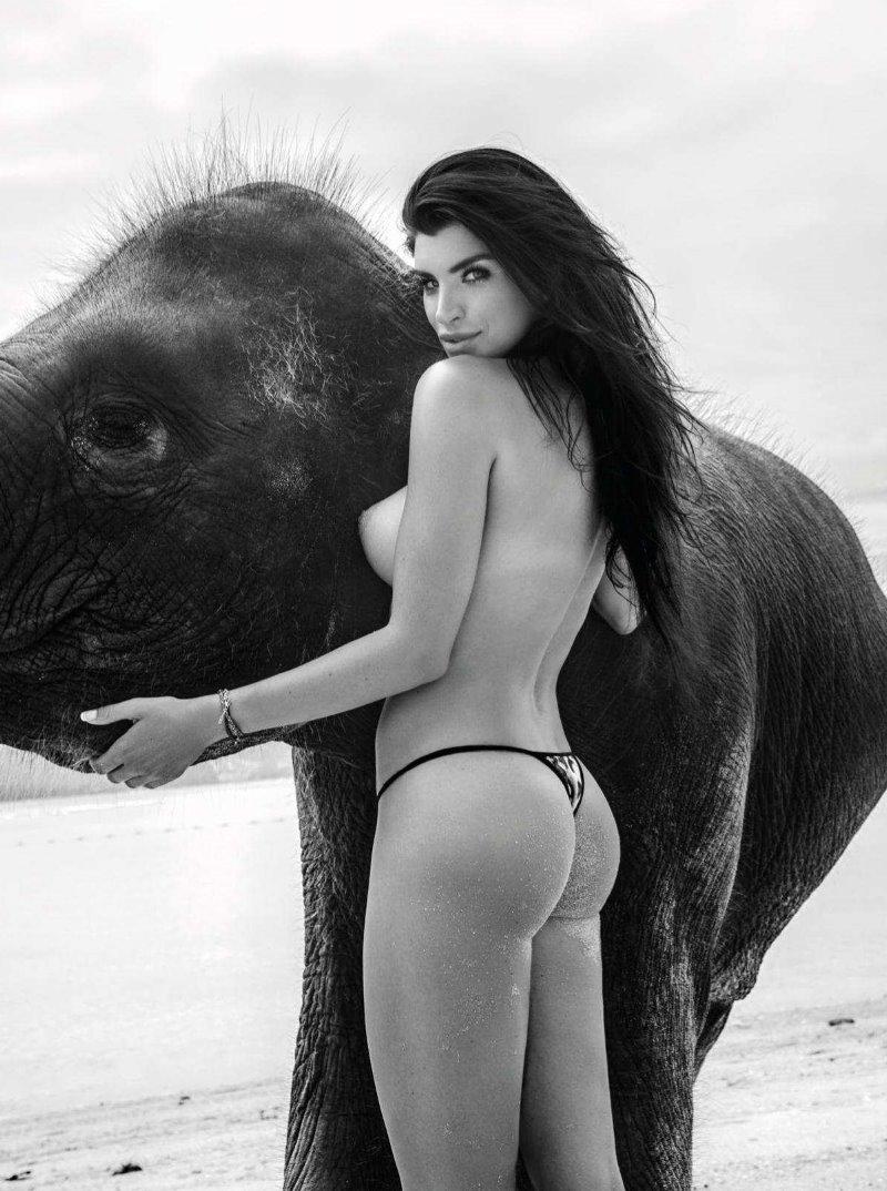 Anna Radomska in Playboy