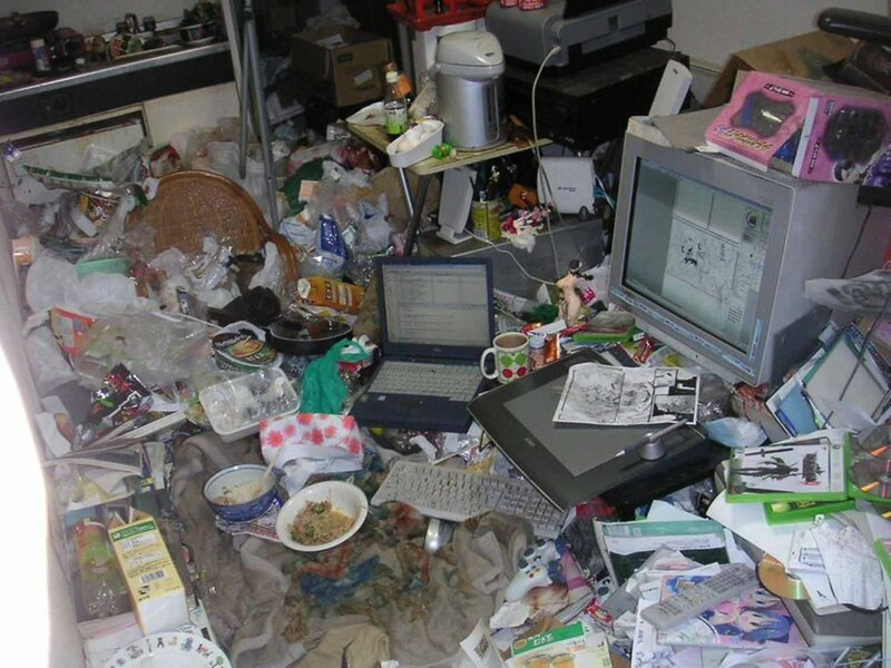 Revolting Gallery Of Filthy Home Offices