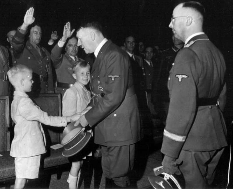 the role of blind obedience in the atrocities committed in germany under adolf hitler Human rights issues during and after world war ii party in germany: 1920s adolf hitler joined the over germany and its people germany, under.