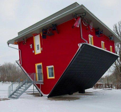 Дом Футуро (Futuro House) в Нидернхаузене (Niedernhausen)