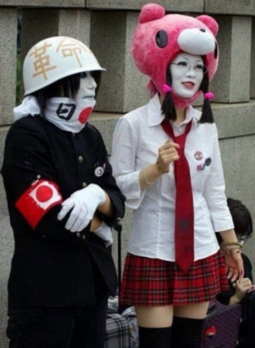Обычные кадры из жизни в Японии, от которых у европейца полезут глаза на лоб (38 фото)