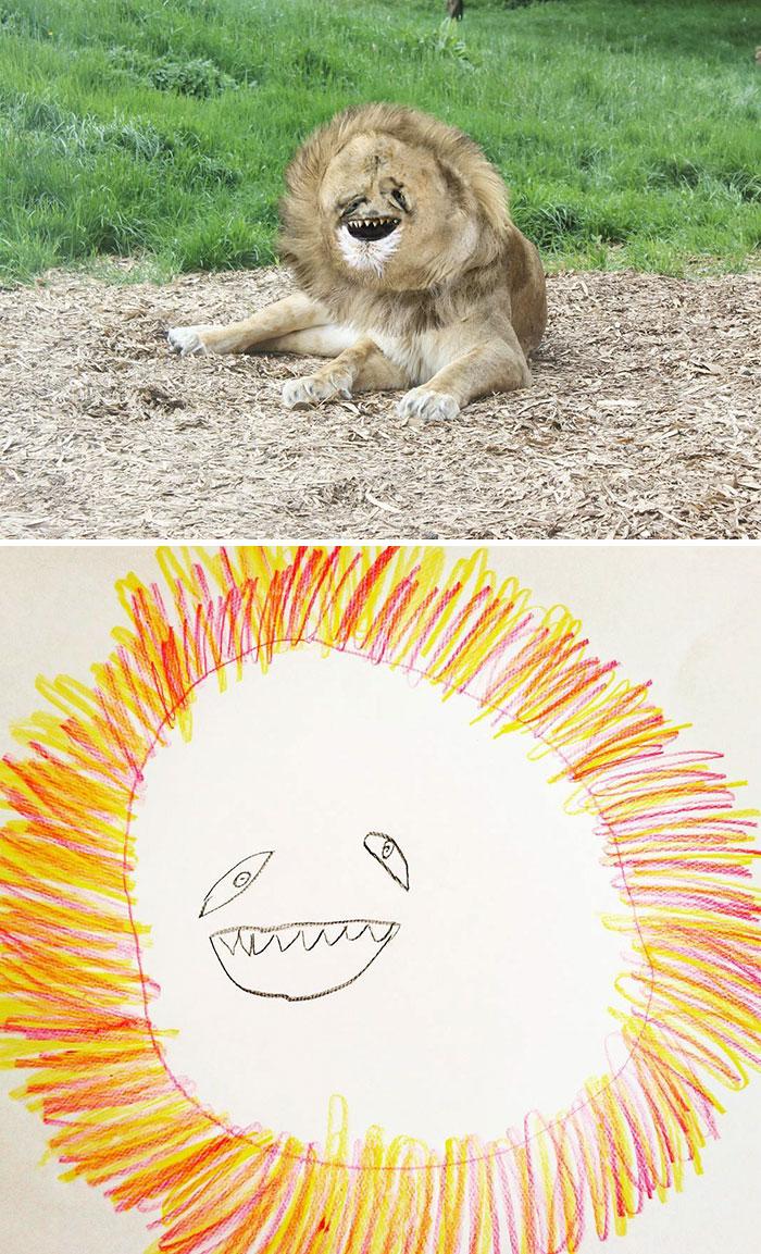 Это просто лев.