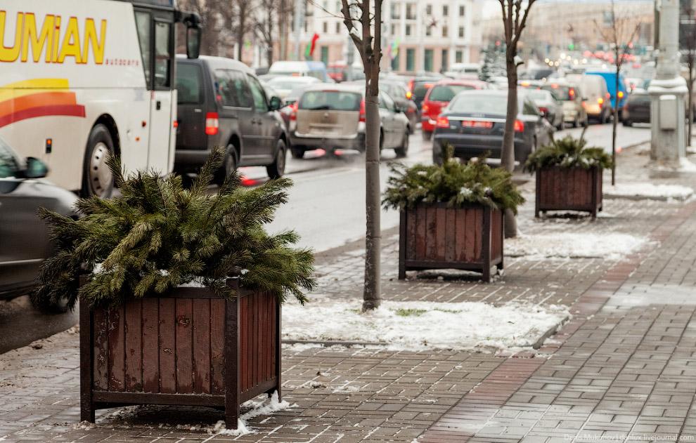 23. В России все уверены, что в Белоруссии невероятные чистота на улицах и порядок в коммунальн