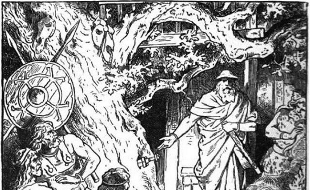 Зигмунд вытащил Грам из дерева Барнстокк, куда его вонзил сам Один. Этим мечом Зигмунд сразил ужасно