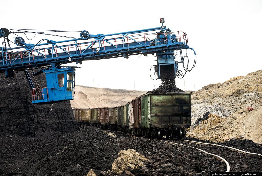 47. В 2013 году разрез добыл юбилейную 450-миллионную тонну угля с начала эксплуатации месторож