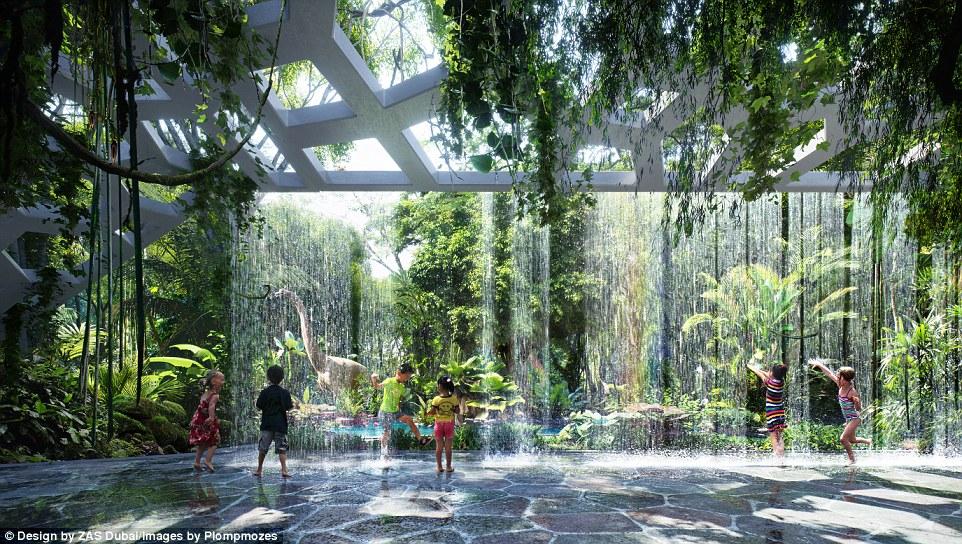 В Дубае откроют первый в мире отель с собственными джунглями (8 фото)