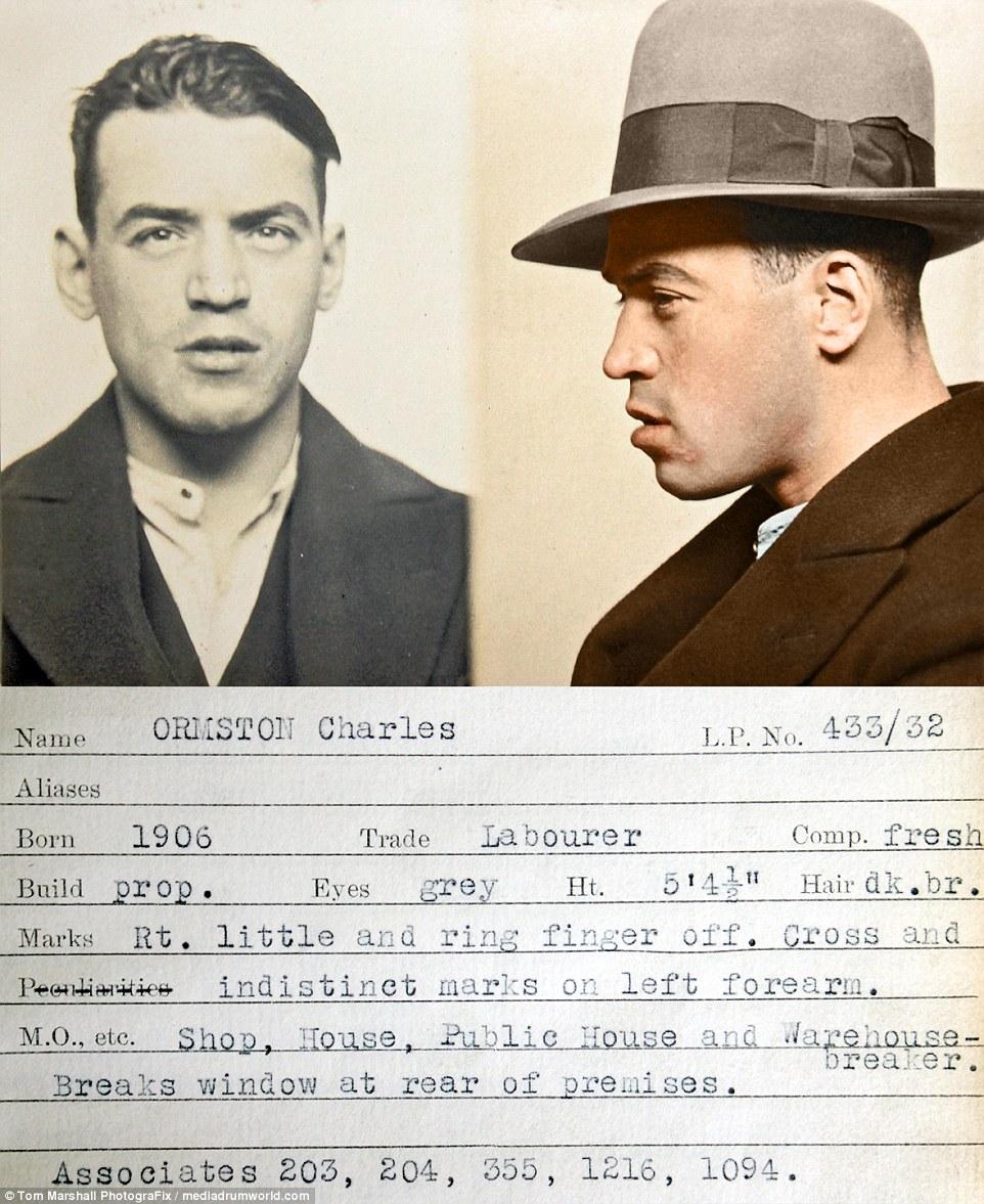 «Взлом и проникновение»: Чарльз Ормстон, рабочий ростом 162 сантиметра, имел репутацию взломщика маг