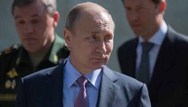 Валерий Гергиев получил медаль «Заосвобождение Пальмиры»