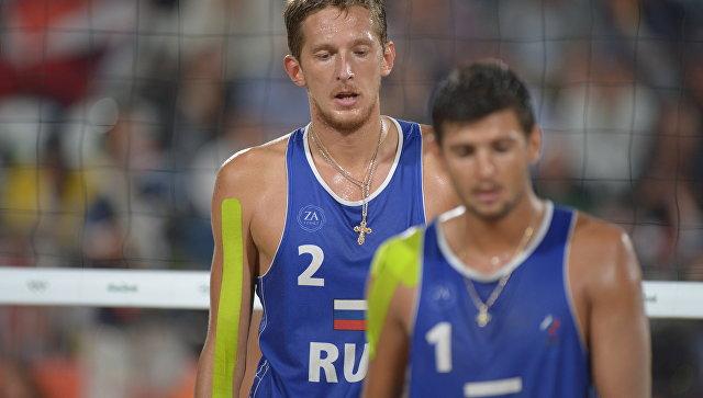 Семёнов иКрасильников вышли вполуфинал олимпийского турнира попляжному волейболу