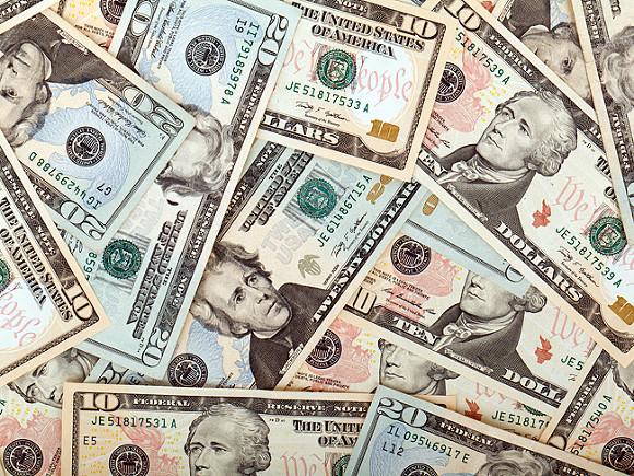 Международные резервы РФ занеделю стали больше на0,1 млрд. долларов