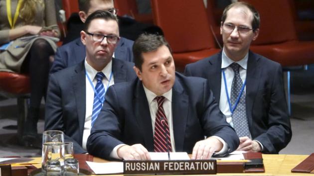 ВМИДе пояснили  резкую речь Сафронкова ворганизации ООН  войной  с«зомбированием»
