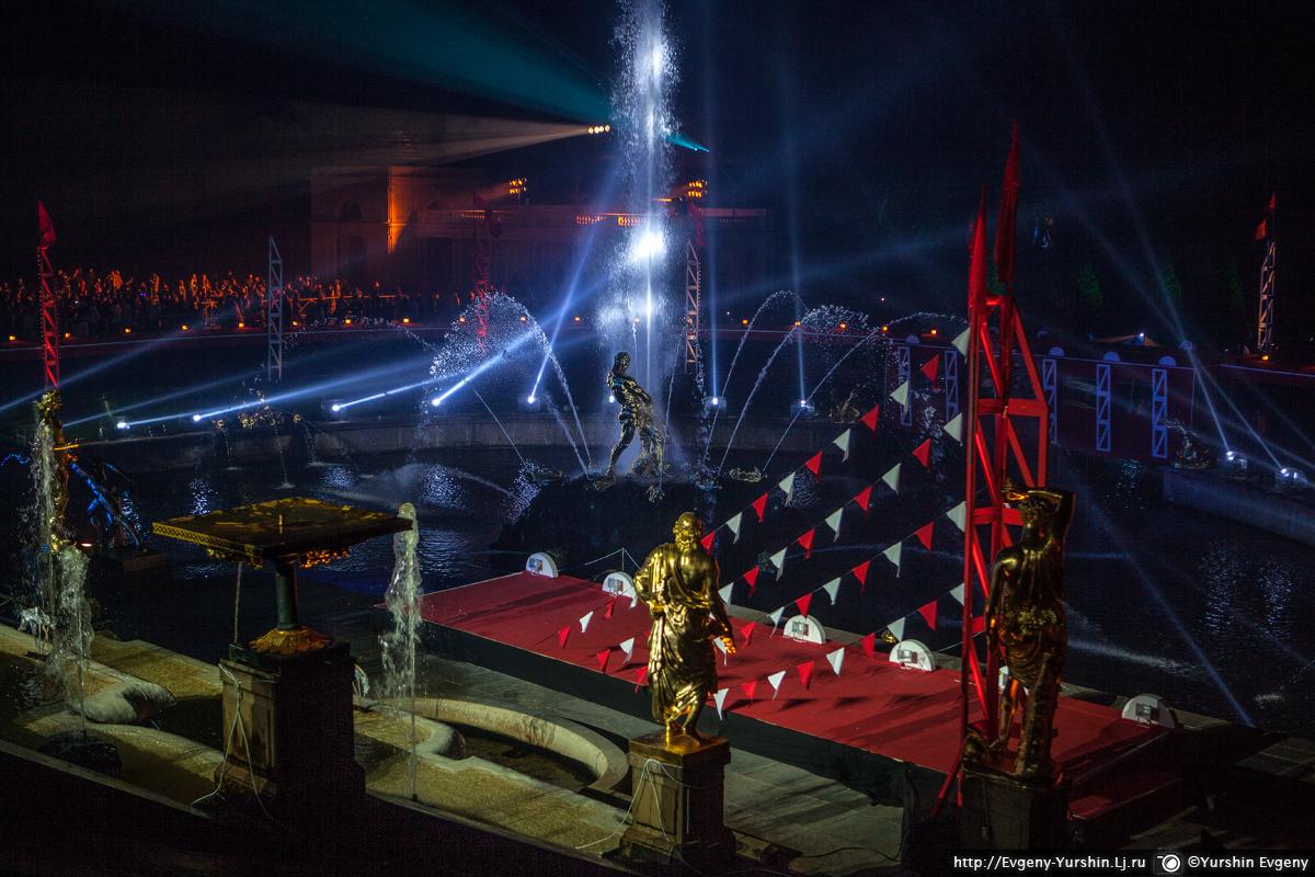 Осенний праздник фонтанов. Советский Голливуд