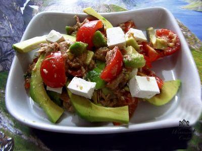 Необычный куриный салат