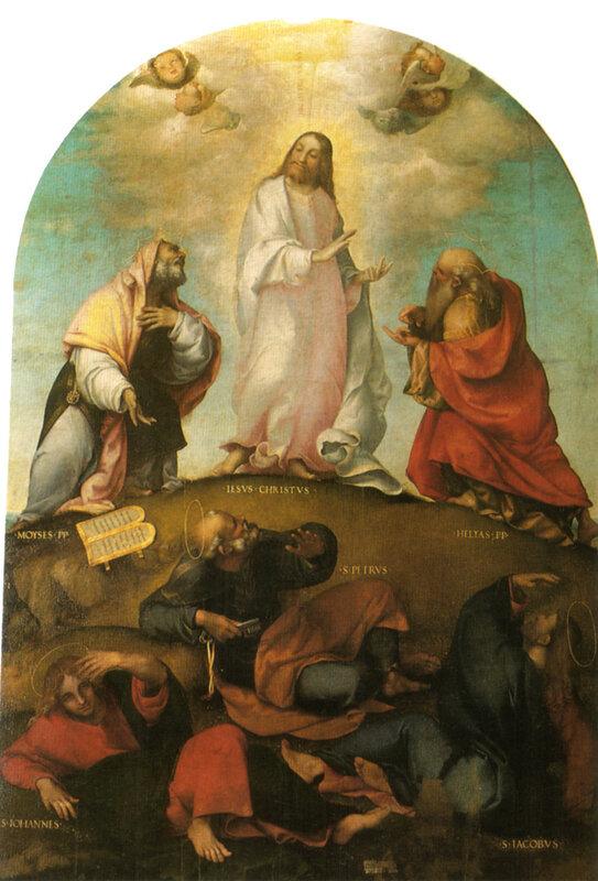 Lorenzo Lotto - Trasfigurazione di Cristo