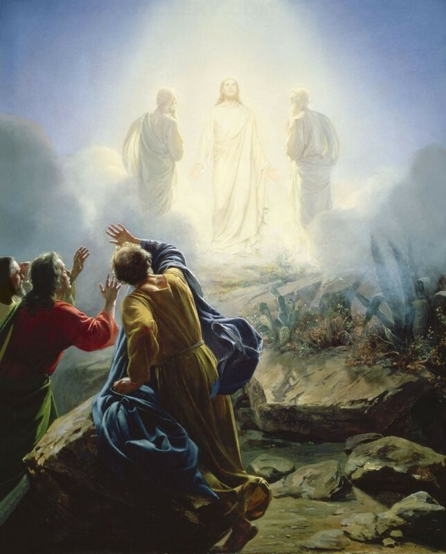 Carl H. Bloch. Transfiguration