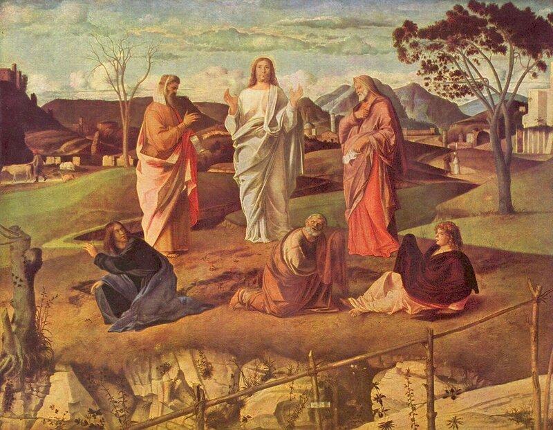 Giovanni Bellini. La Trasfigurazione