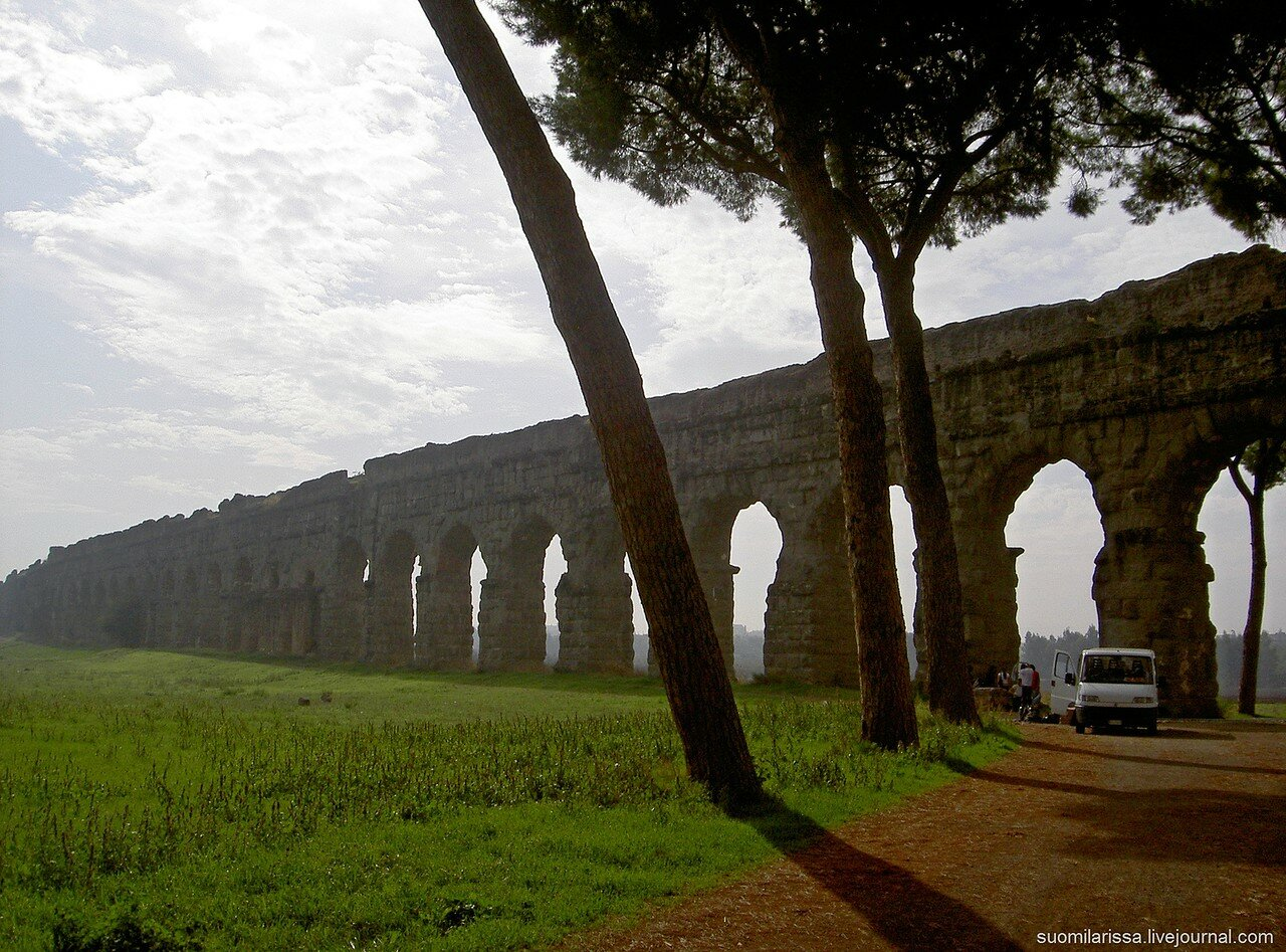 Древнеримский акведук.