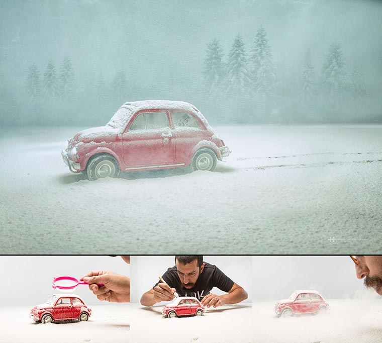 Toy Photography - The miniature compositions of Felix Hernandez