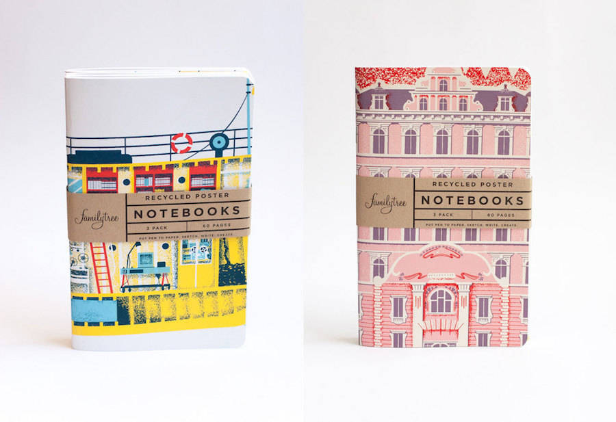 Wes Anderson's Movies Notebooks