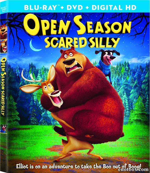 Сезон охоты: Байки из леса / Сезон охоты 4: Страшно глупо / Open Season: Scared Silly (2015/BDRip/HDRip)