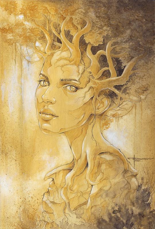 Beautiful Watercolor Paintings by Mekhz
