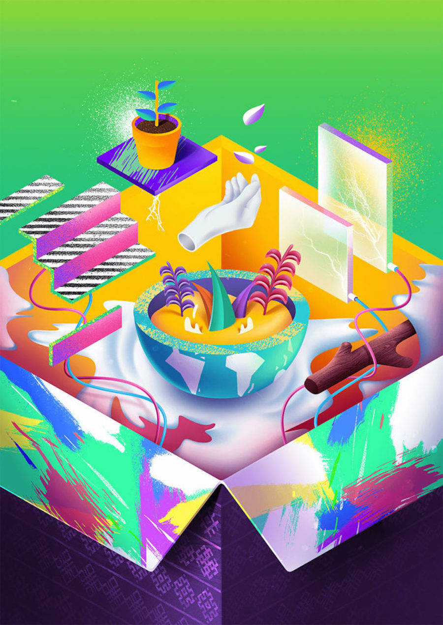 Skillful & Colorful Illustrations by Diego Morales