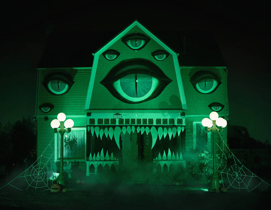 Haunted Monster House for Halloween