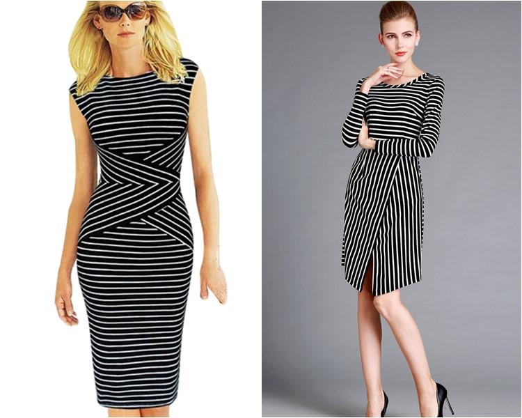 Облегающие платья офисные