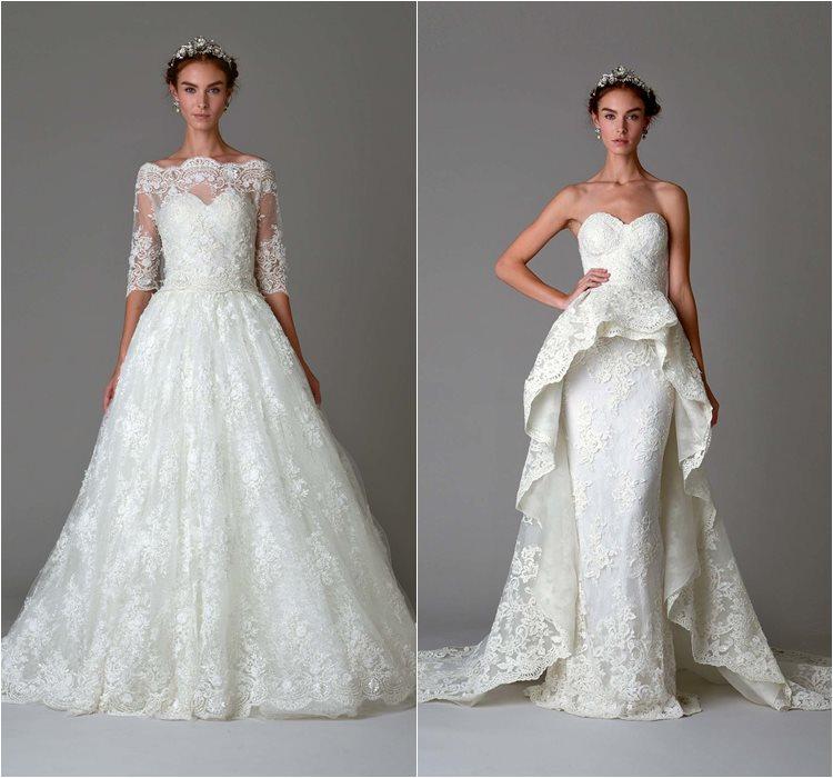 Кружевные свадебные платья 2016 фото 14