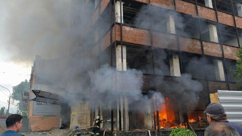 дом быта пожар