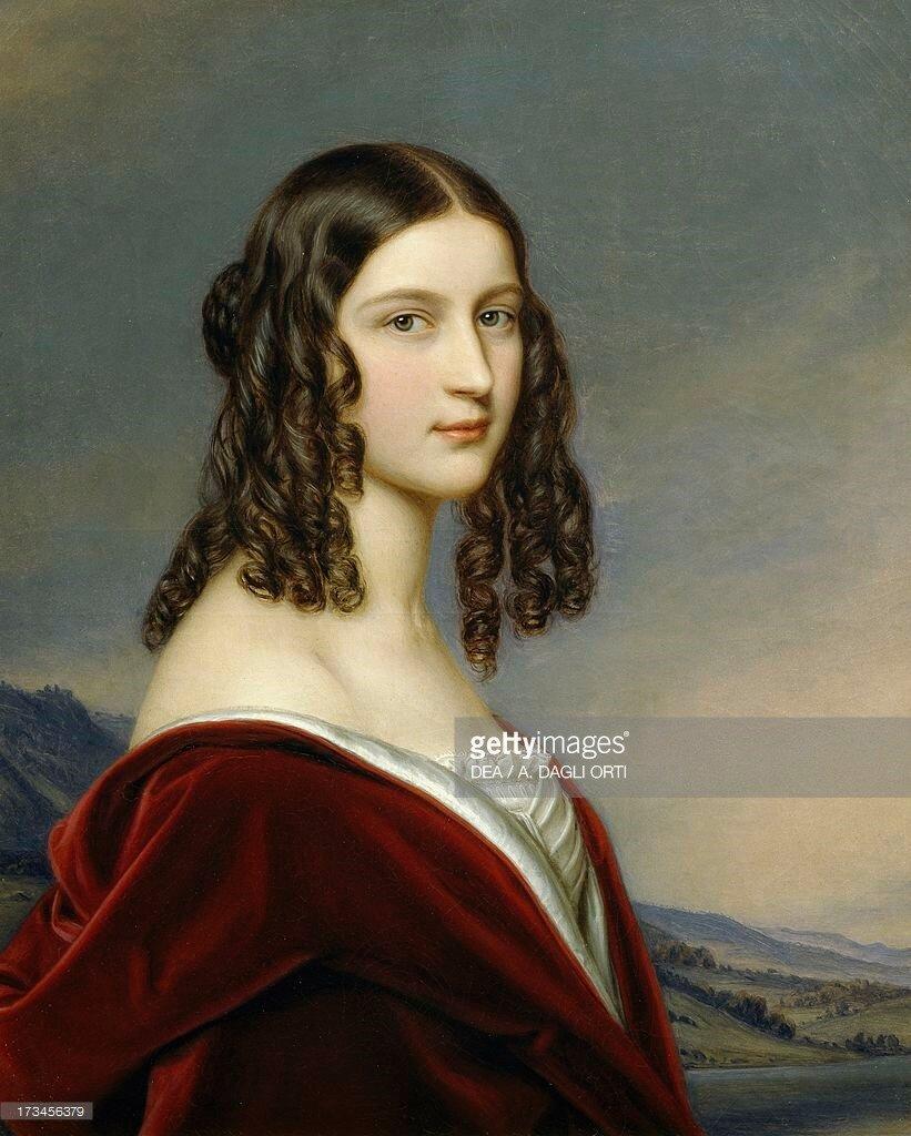 Portrait of Friederike Von Freiin Gumppenberg, 1843.jpg