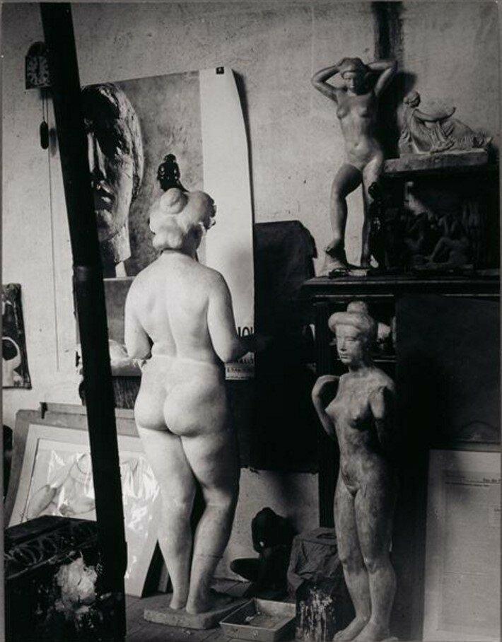 1932. В мастерской Майоля