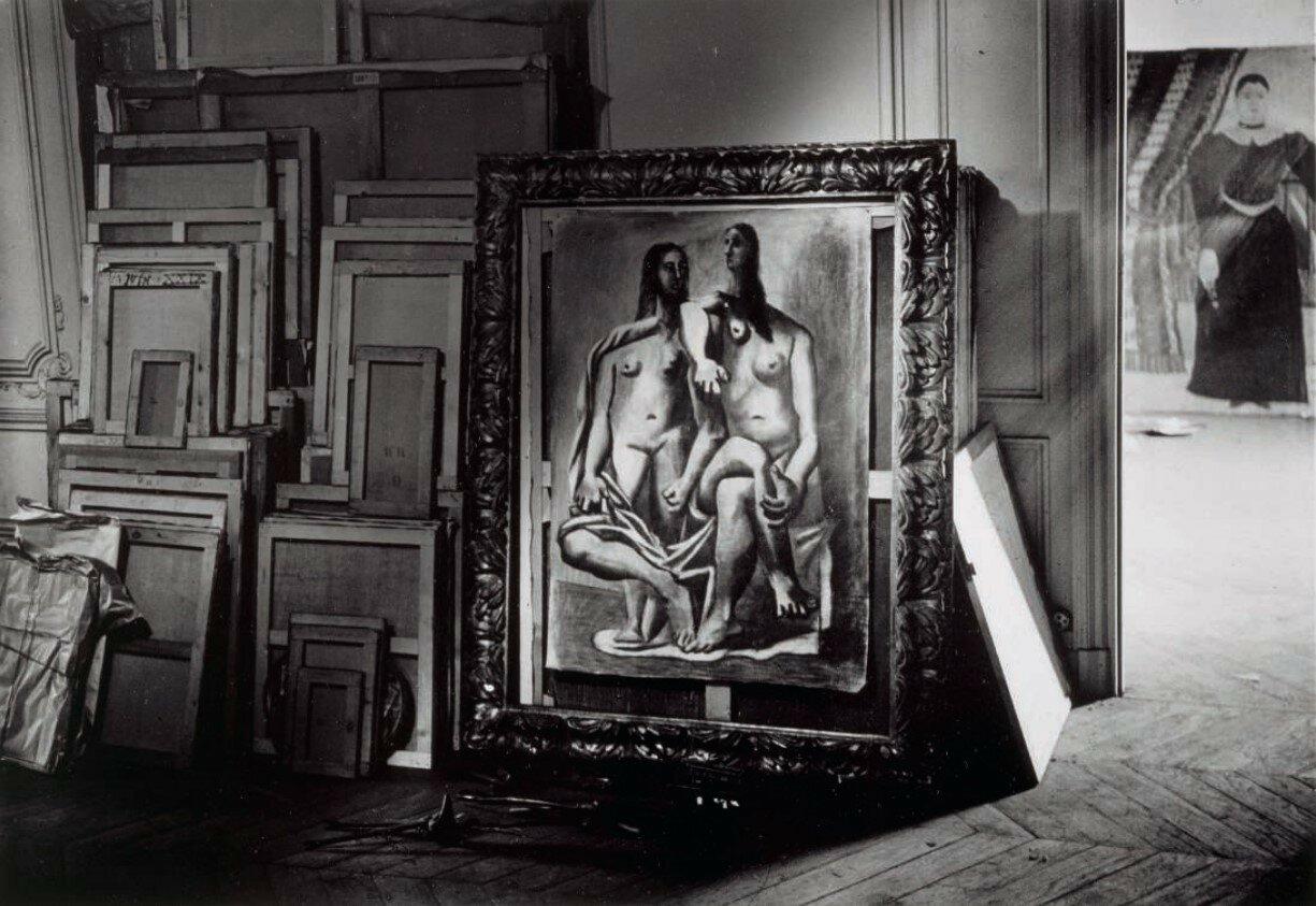 1932. «Купальщицы» Пикассо, студия на Рю-де-ла-Боэти