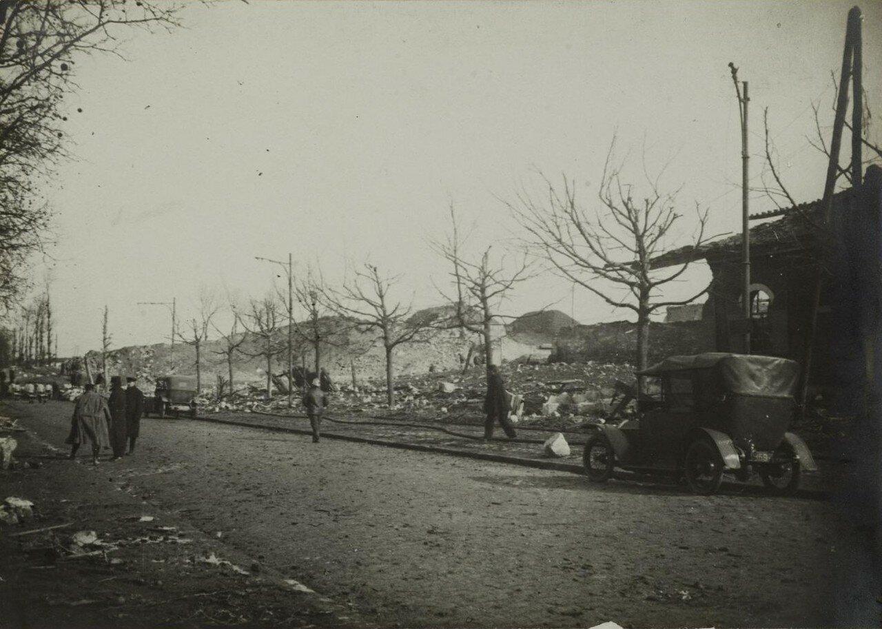 1916. 04 марта. Разрушения в Париже