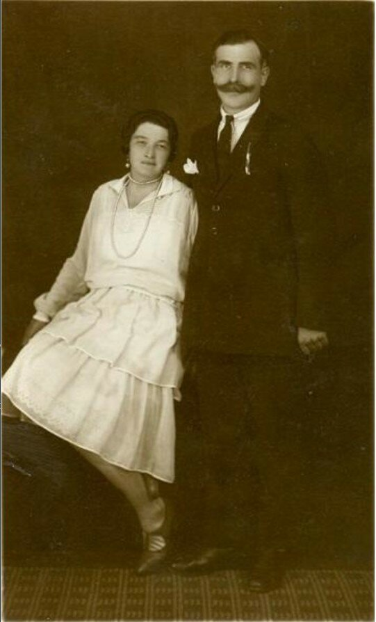 1920-е. Свадебный портрет