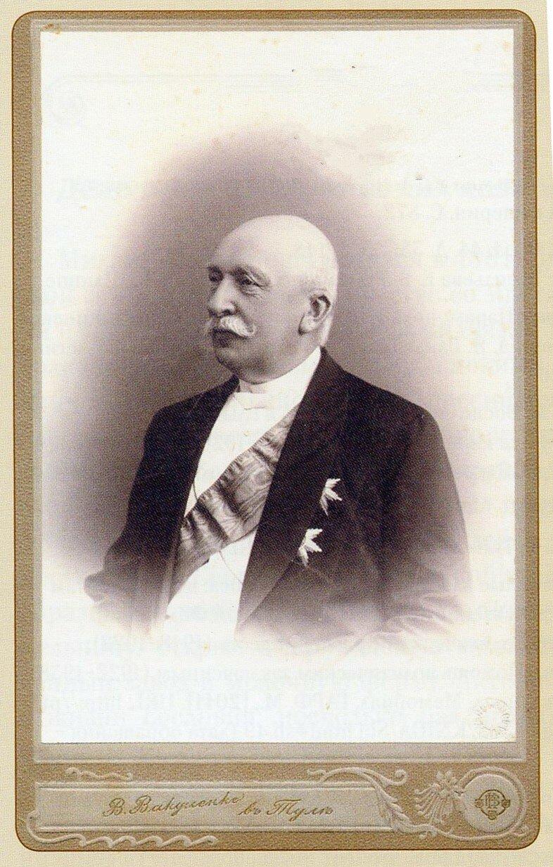 Шлиппе Владимир Карлович (1834-1923) - тульский губернатор